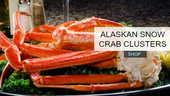 Buy Snow Crab Clusters - Harbour House Crabs