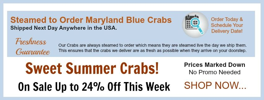 Sweet Summer Crab Sale